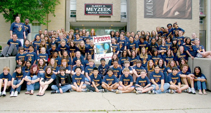 Meyzeek Middle School World Language Department T-Shirt Photo