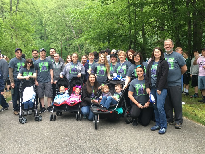 The Breathe Easy Brigade Walks To Cure Cystic Fibrosis T-Shirt Photo