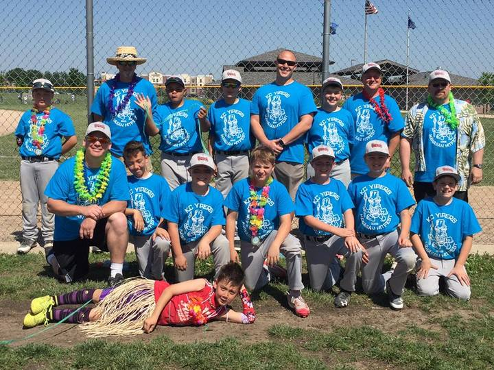 Hawaiian Hitfest Baseball Tournament T-Shirt Photo