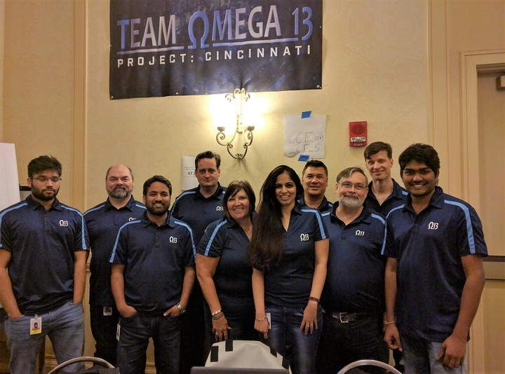 Omega 13 Scrum Team T-Shirt Photo