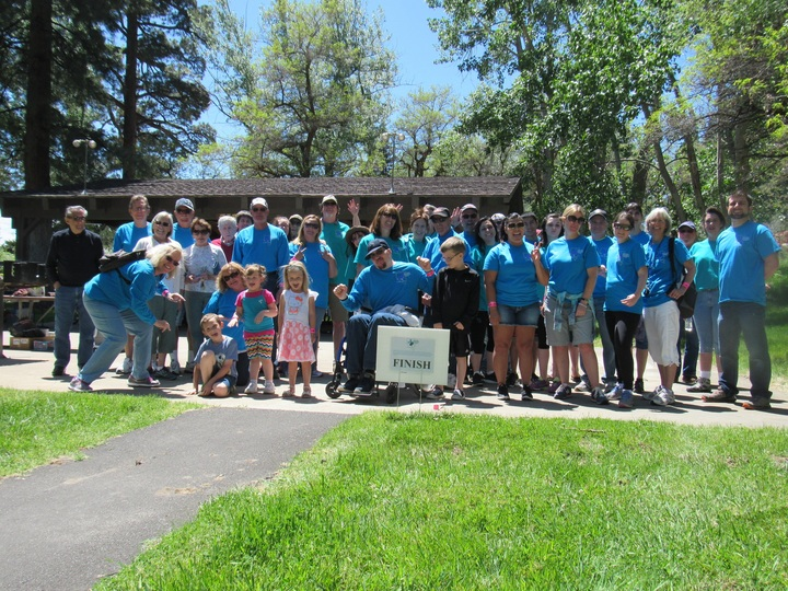 Head Injury Association Of Northern Nevada Walk & Roll Event & Picnic T-Shirt Photo