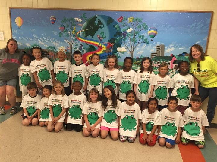 Hopping Into Second Grade T-Shirt Photo