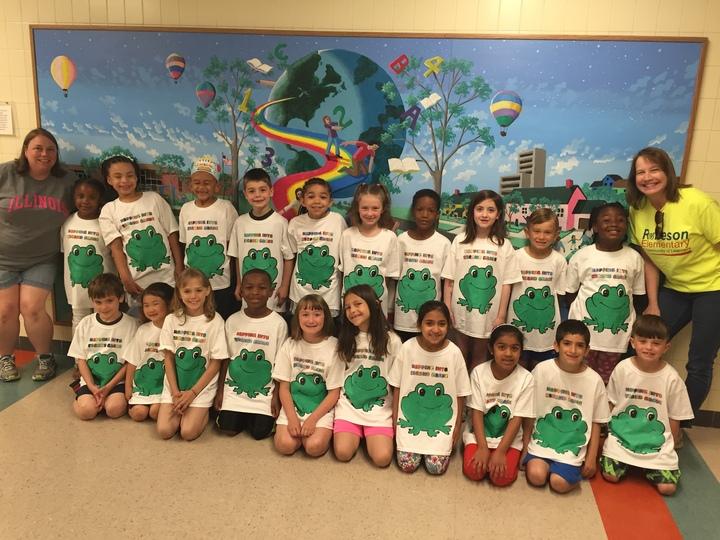 Hopping Into Second Grade T-Shirt Photo