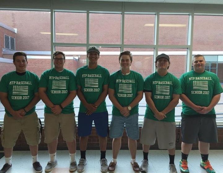 Custom T-Shirts for Mtp Baseball Seniors - Shirt Design Ideas