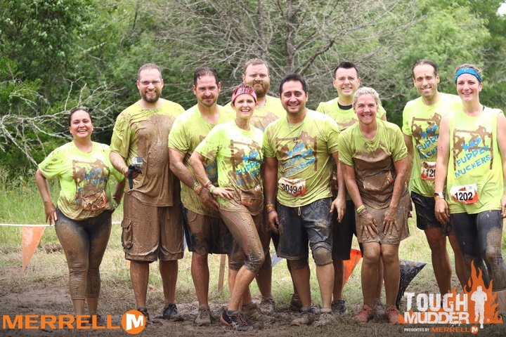 Making Sure These Shirts Can Handle The Mud! T-Shirt Photo
