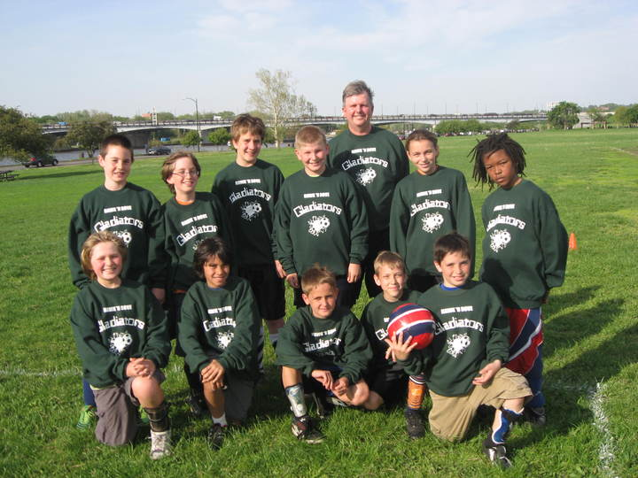 U12 Coed Soccer T-Shirt Photo