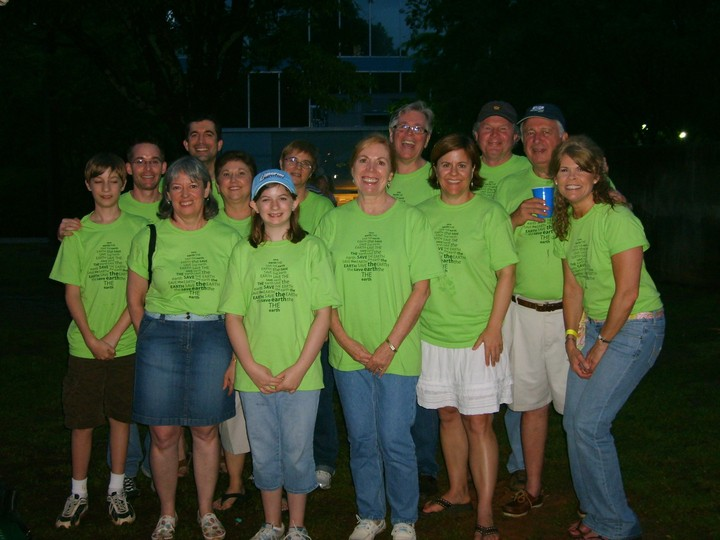 Decatur First Bank Goes Green! T-Shirt Photo