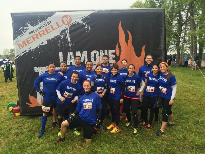 Team Eli Tough Mudder T-Shirt Photo