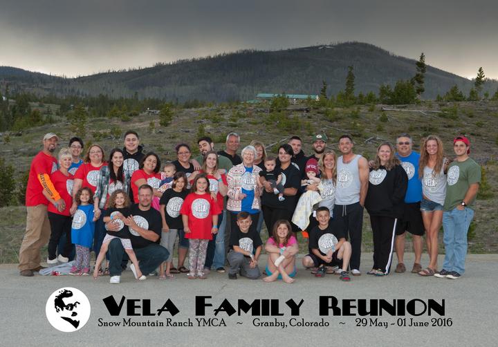 2016 Vela Family Reunion T-Shirt Photo