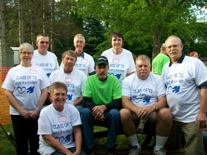 Class Of '72 Supports Jack T-Shirt Photo