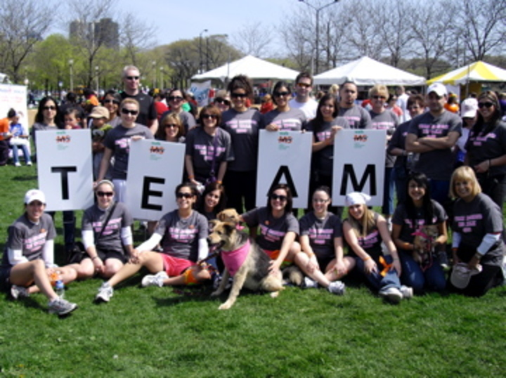 Team Rosebud Ms Walk 2009 T-Shirt Photo