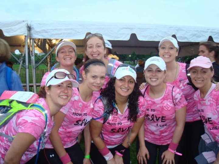 Avon 40 Mile Breast Cancer Walk T-Shirt Photo