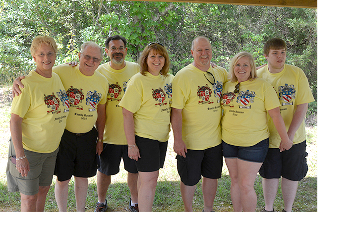Hamilton Cleasby Family Reunion T-Shirt Photo