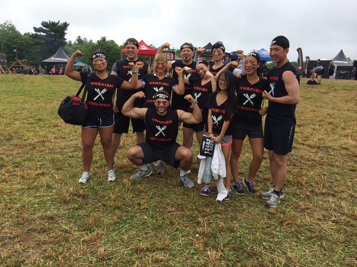 Spartan Sprint Race 2016 T-Shirt Photo