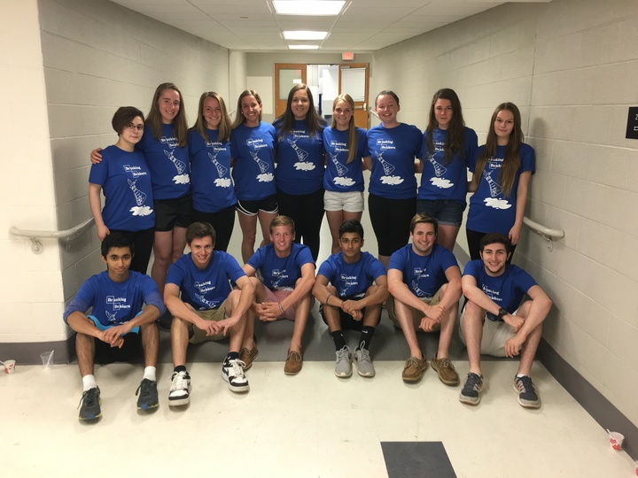 """Breaking Beakers"" 2016 Ap Chem T-Shirt Photo"