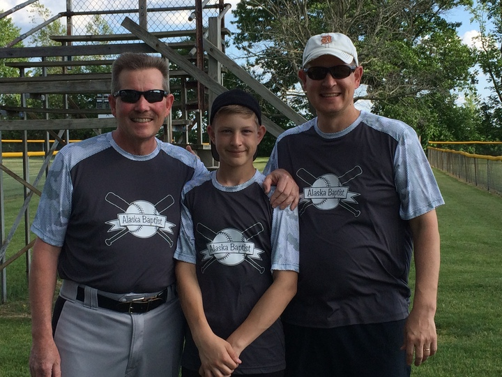 3 Generations Of Softball Players  T-Shirt Photo