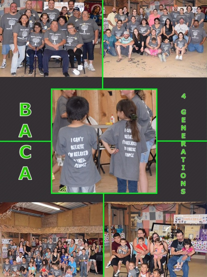 Baca 4 Generations T-Shirt Photo