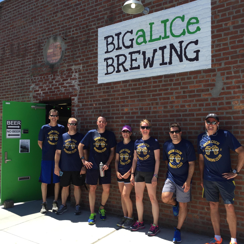 Custom T Shirts For Big Alice Brewerylic Run Shirt Design Ideas