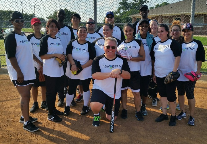 Thursday Night Coed Softball T-Shirt Photo