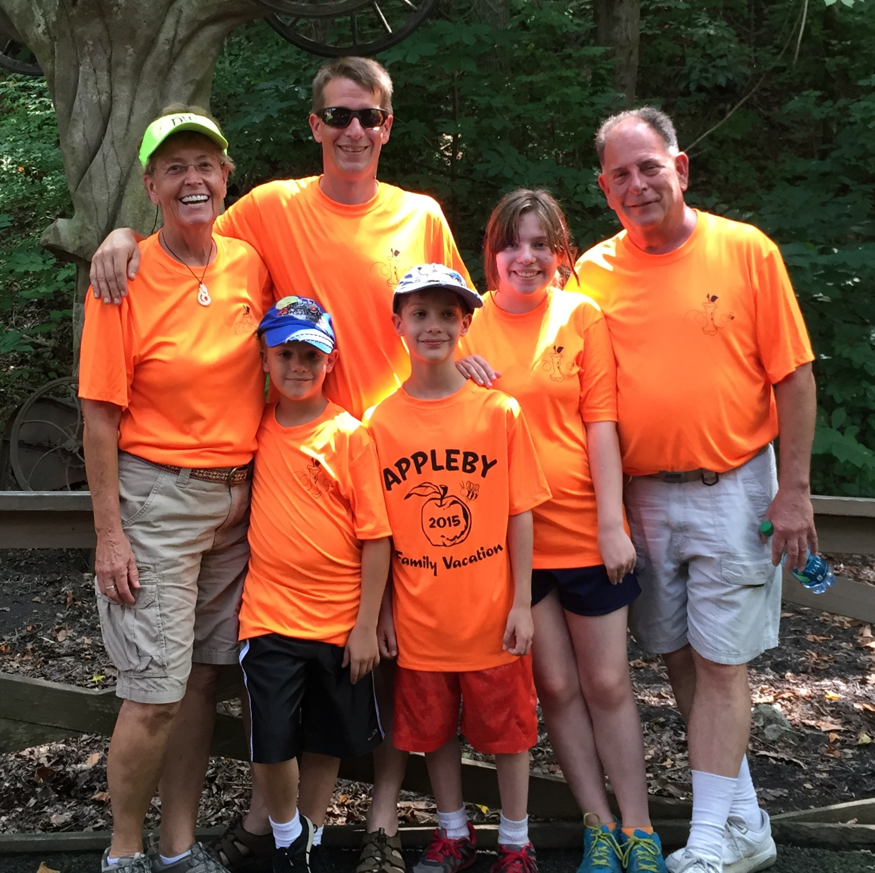 Custom T Shirts For Appleby Family Vacation In Dollywood