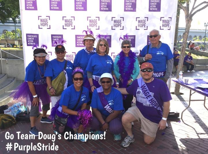 Wage Hope | #Purple Stride Sf | 06.11.2016 T-Shirt Photo