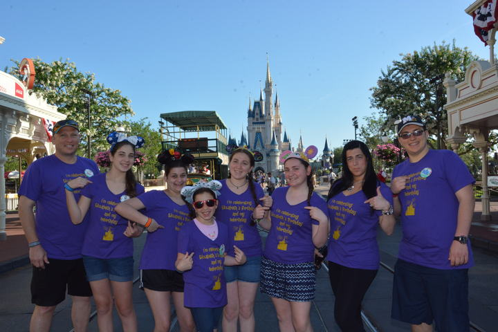 Birthday (And Unbirthday) Celebration At Disney T-Shirt Photo