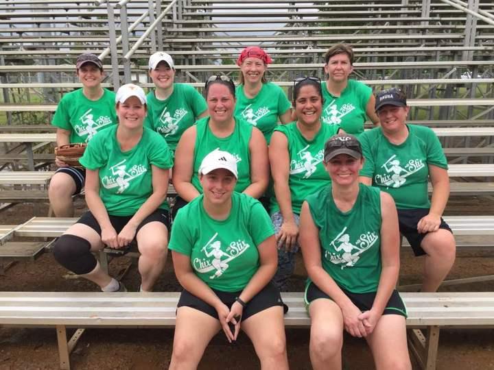 Chix Softball T-Shirt Photo