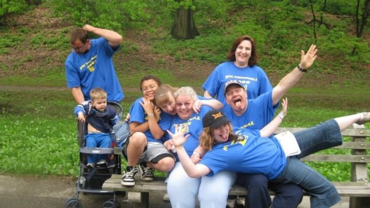 Having Fun Before Vision Walk T-Shirt Photo