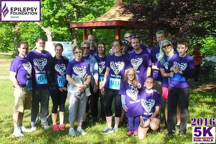 Team Casey   Freedom From Seizures T-Shirt Photo