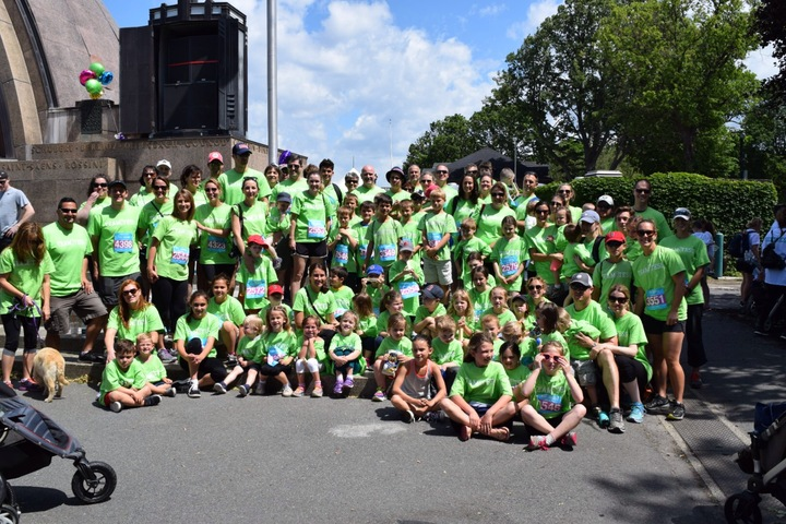 Boston Childrens Hospital Eversource Walk T-Shirt Photo