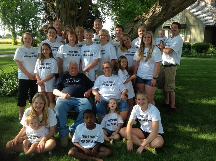 Bill's Family T-Shirt Photo