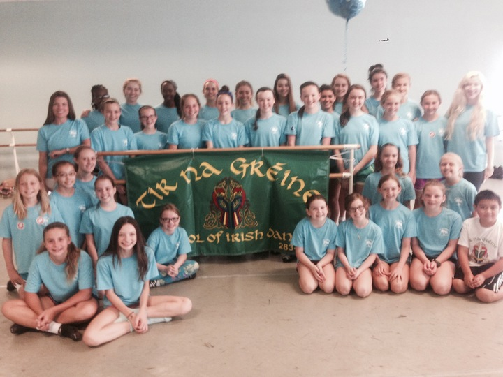 Tir Na Greine Irish Dance Camp T-Shirt Photo
