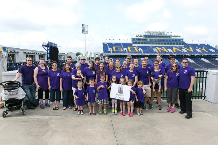 Team Rylee's Promise T-Shirt Photo