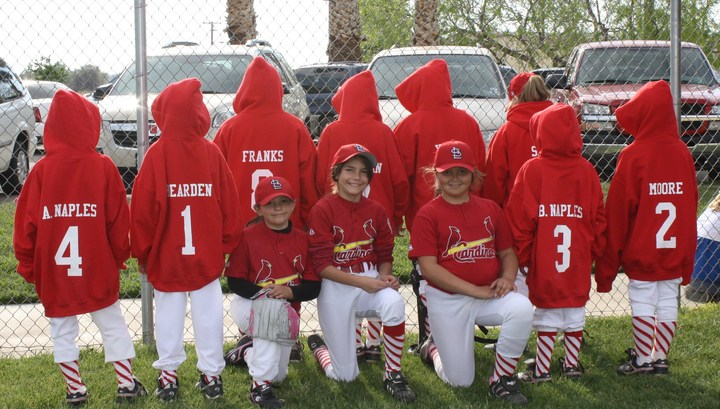 Cardinals Girls Softball T-Shirt Photo