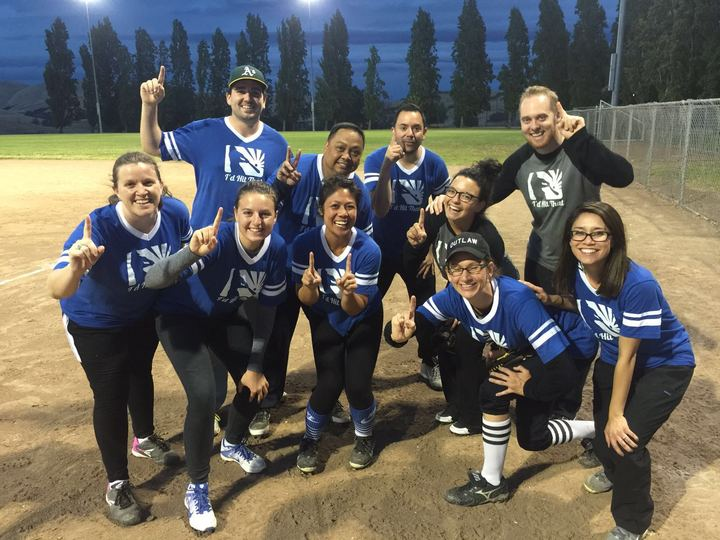 Kicked Off Summer Softball Season With A Win!! T-Shirt Photo