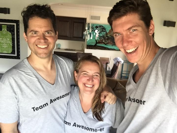 Team Awesom Ers  T-Shirt Photo