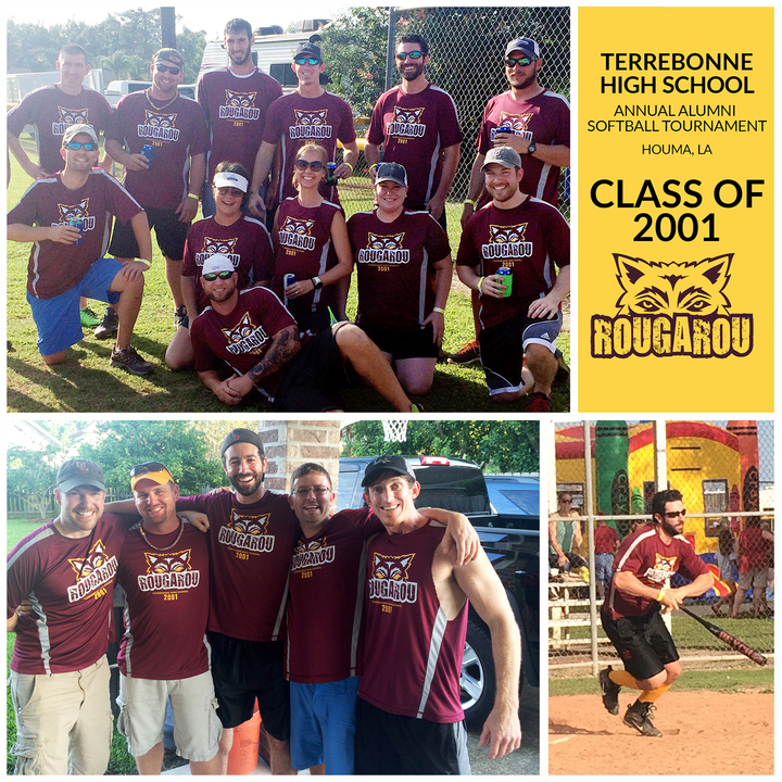 Terrebonne High School Alumni Softball Tournament   Class Of 2001! T-Shirt Photo