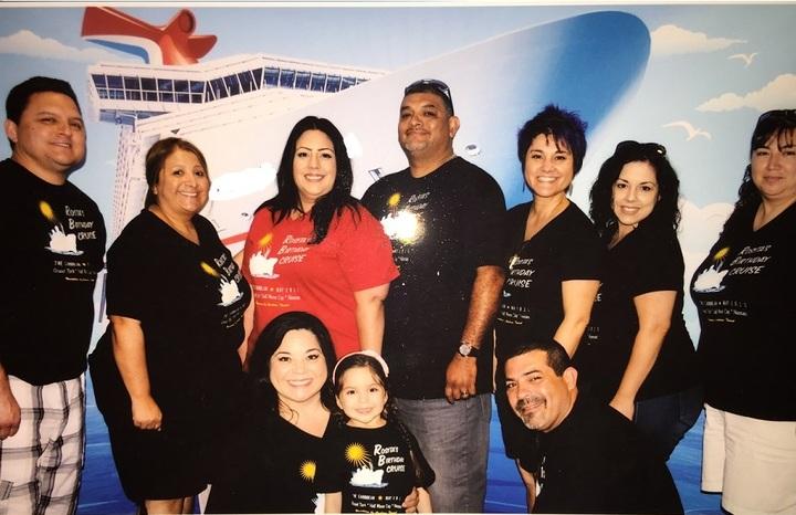 Rosita's Birthday Cruise T-Shirt Photo