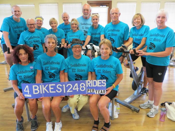 Saddle Brooke Ez Riders T-Shirt Photo