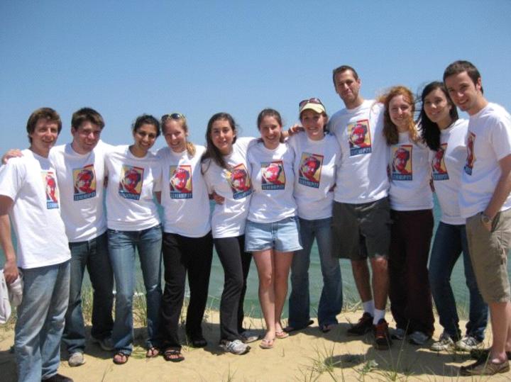 Synaptic Scholars At Truro May 2009 T-Shirt Photo