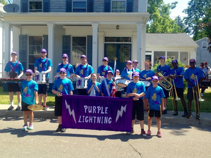 Purple Lightning  Band At Owego Strawberry Festival T-Shirt Photo