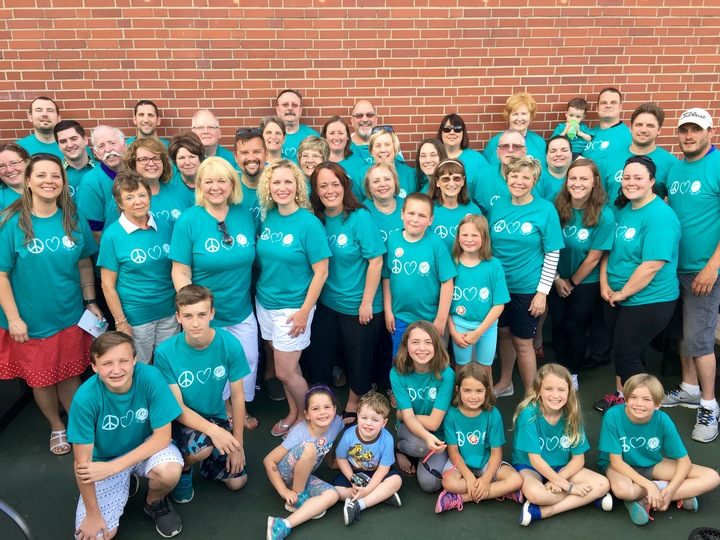 Art In The Park Volunteers   Plymouth, Michigan T-Shirt Photo