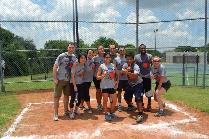 Monstars 1st Kickball Win T-Shirt Photo