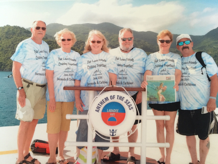Fair Lawn Friends Cruising Together T-Shirt Photo