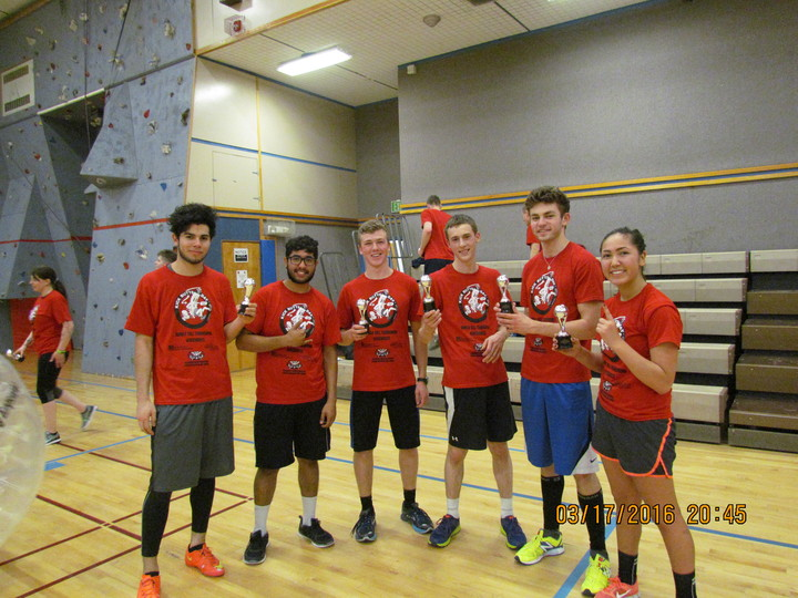 Kick Butts Day Bubble Ball Tournament T-Shirt Photo