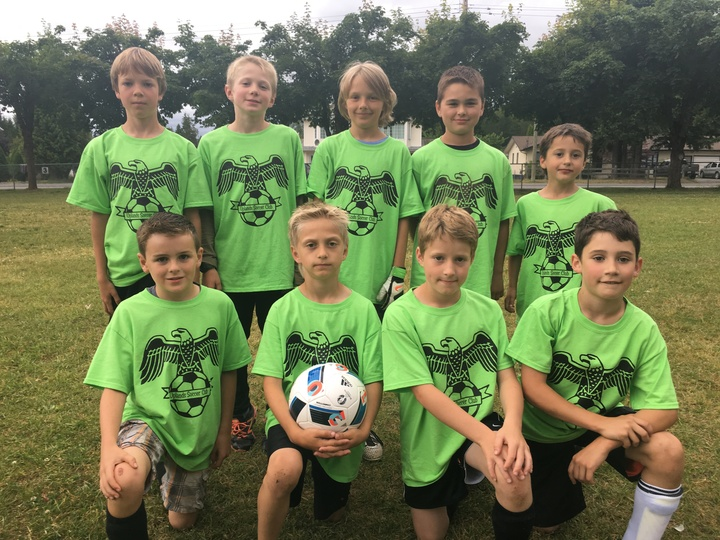 Uplands Soccer Club T-Shirt Photo