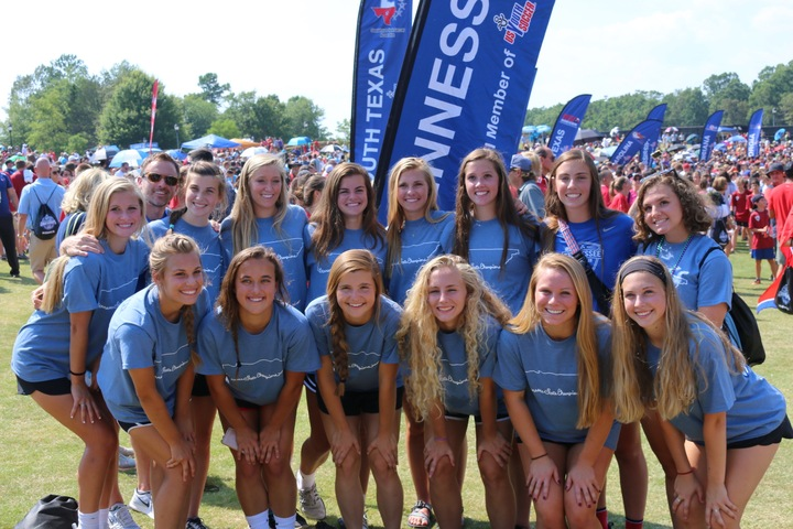 State Champs Modeling Their Trading Shirts At Region Iii Championships T-Shirt Photo