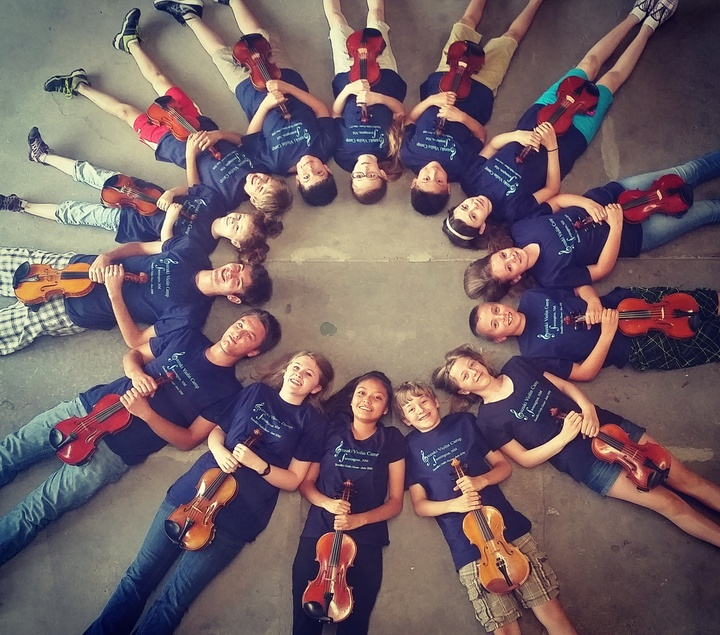 Farmington Suzuki Violin Camp T-Shirt Photo