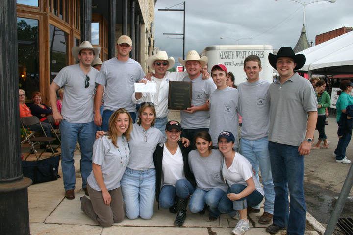 2009 Texas Steak Cook Off Champions T-Shirt Photo