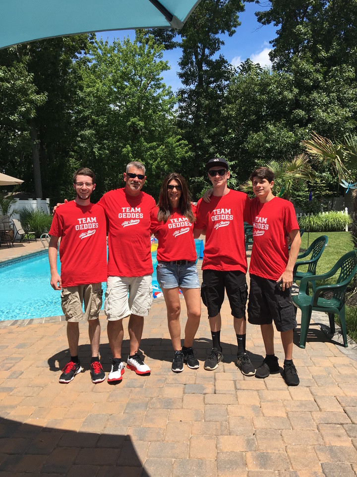 Team Geddes T-Shirt Photo
